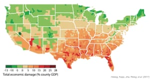 Unchecked climate change will prove costly for the whole country.