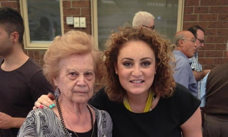 Carla Gangi and her 89-year-old grandmother Concetta Mineo, an Epping Gardens resident.