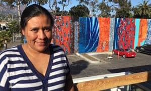 Zita Nevarez, a barista who lost six weeks wages during and after Montecito's mudslides.