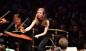 Mirga Gražinytė-Tyla conducting the City of Birmingham Symphony Orchestra