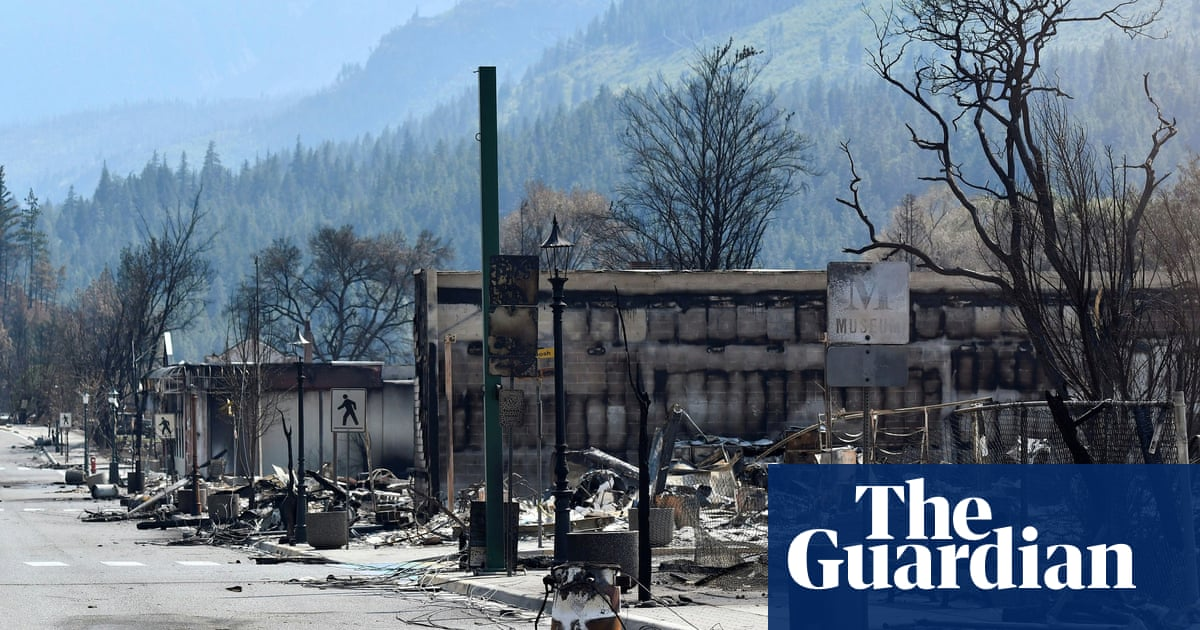 Second western Canada town destroyed by 'exceedingly aggressive' wildfire