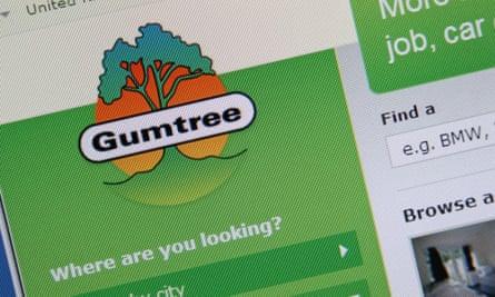 gumtree website