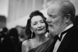 Lesley Manville and Peter Mullan, stars of Mum