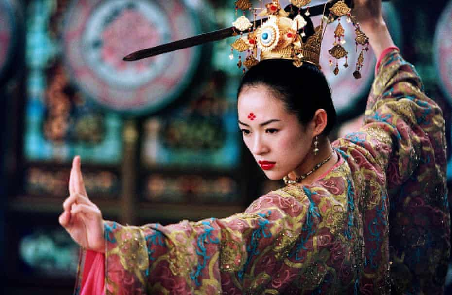 Zhang Ziyi in The House of Flying Daggers (2004)