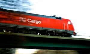 A DB Cargo train