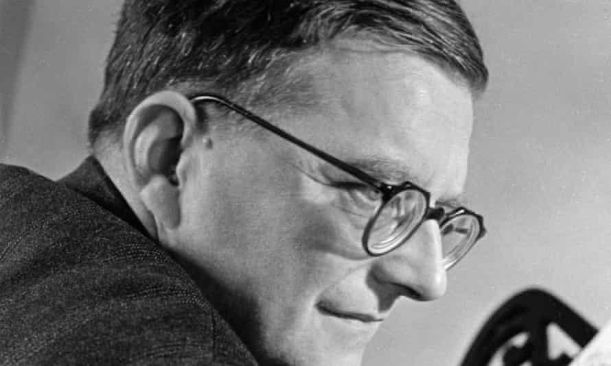 Shostakovich at his piano