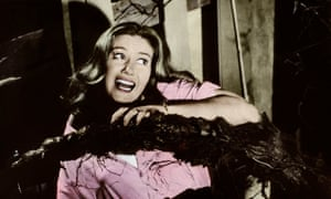 Janette Scott is accosted by a triffid in the 1962 film version of John Wyndham's novel.