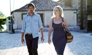 Delpy with Ethan Hawke in Before Midnight, which earned her a scriptwriting Oscar nomination.