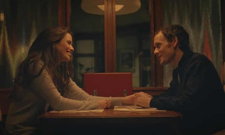 Unashamedly love-struck … Lucie Lucas and Anton Yelchin.