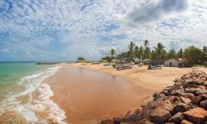 Beach near Kalpitiya, Sri Lanka