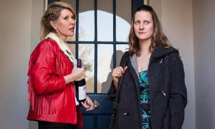 Julia Davis, left, in another groundbreakingly frank drama Sally4Ever with Catherine Shepherd.