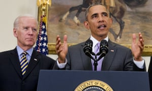 Biden, with his name recognition and legacy as Obama's two-term running mate, consistently leads the field of potential Democratic contenders