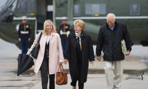 Liz Cheney with her parents, Lynne and Dick Cheney