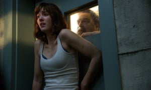 Field of nightmares ... Mary Elizabeth Winstead faces an uncertain future in John Goodman's mysterious bunker