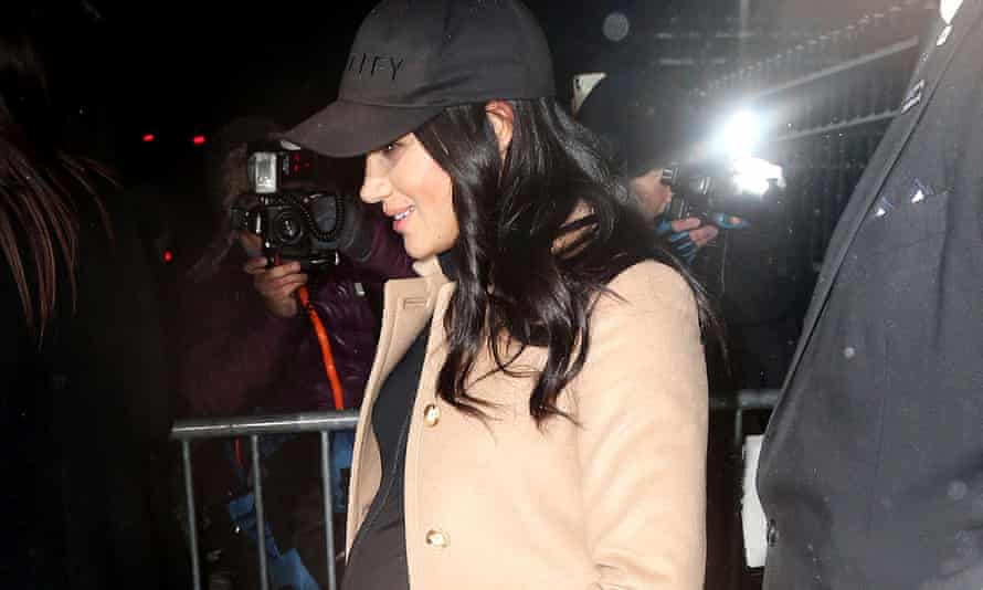 The Duchess of Sussex drew criticism from some newspapers about her baby shower in New York.