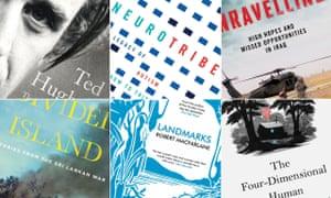 The books on the Samuel Johnson prize 2015 shortlist.