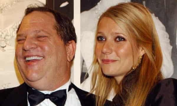 Harvey Weinstein and Gwyneth Paltrow in 2002.