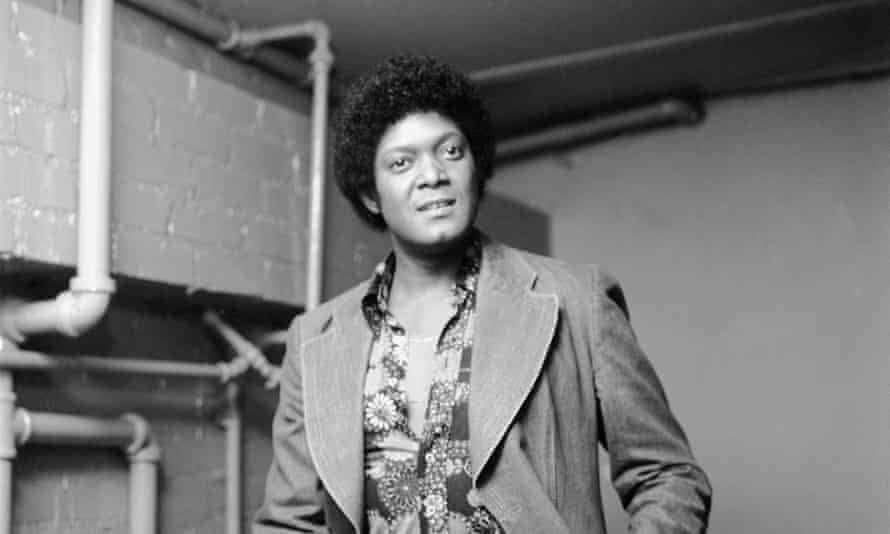 dobie gray backstage in los angeles in 1976