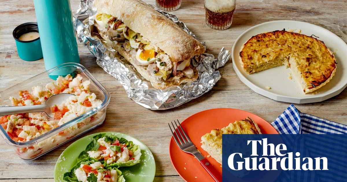 Flask ceviche, onion tart and pork tonnato sandwiches: Max Halley's picnic recipes