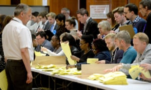Ballots are being counted for the Tooting byelection at Wandsworth town hall in south London.