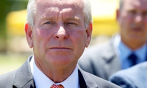 Western Australian premier Colin Barnett is under pressure before the 11 March state election.