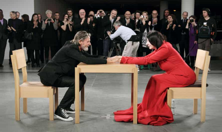 The Artist Is Present performance, 3 months, the Museum of Modern Art, New York, 2010