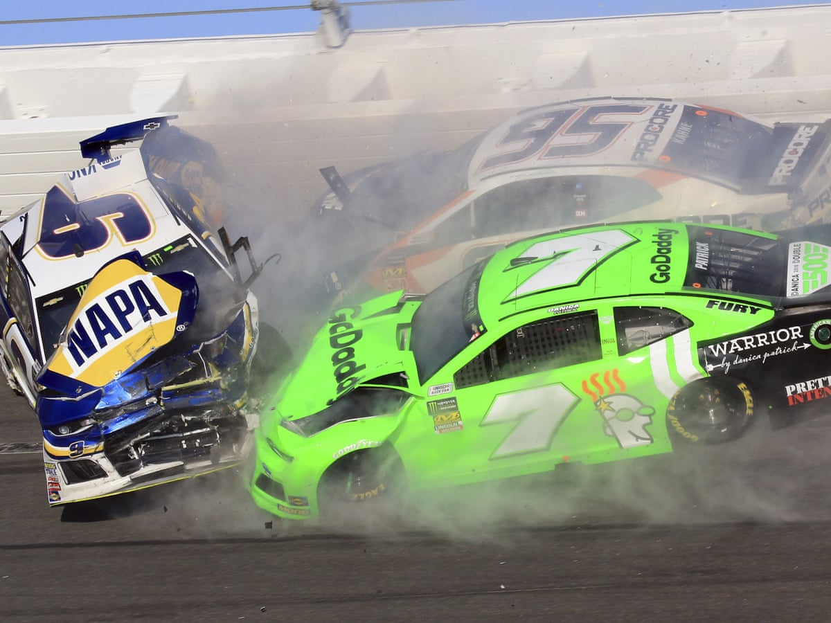 Danica Patrick S Nascar Career Ends In Crash As Austin Dillon Wins Daytona 500 Nascar The Guardian