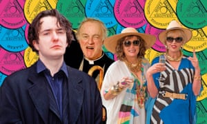 Black Books; Father Ted and Absolutely Fabulous.