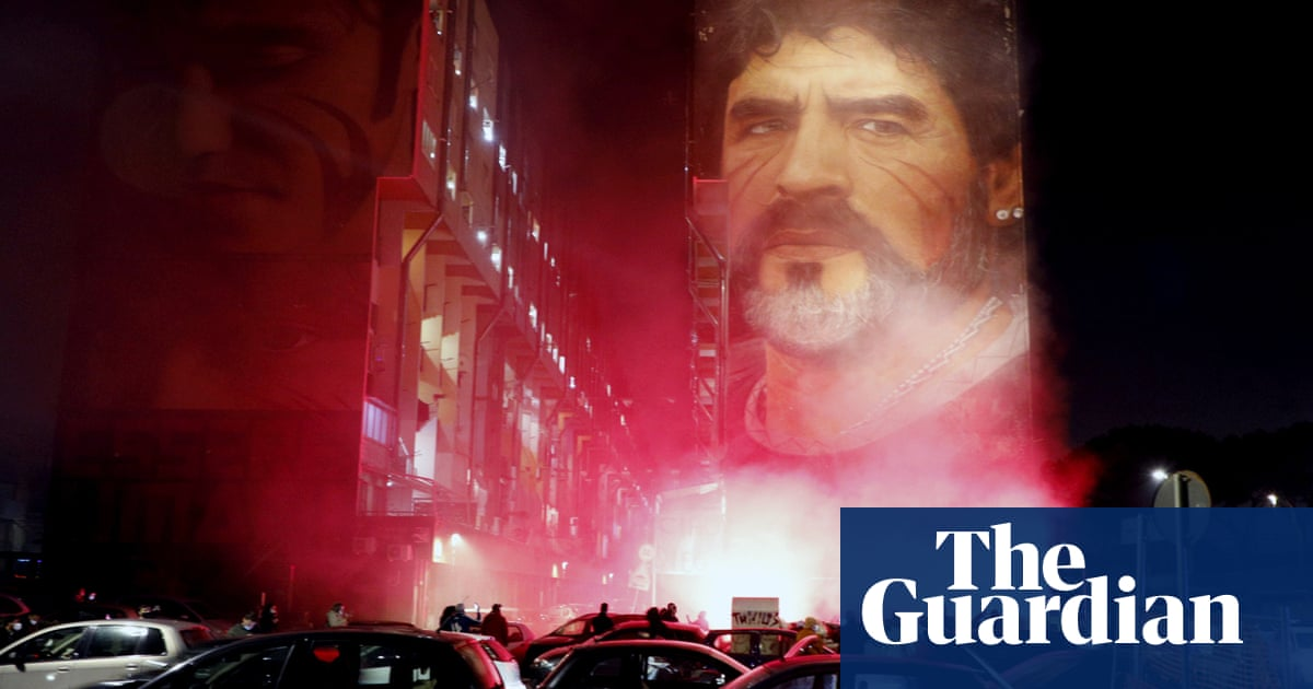 We felt invincible in those days: Naples pays its respects to Maradona
