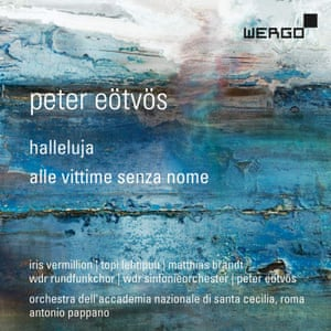 Peter Eötvös: Halleluja; Alle Vittime Senza Nome album art work