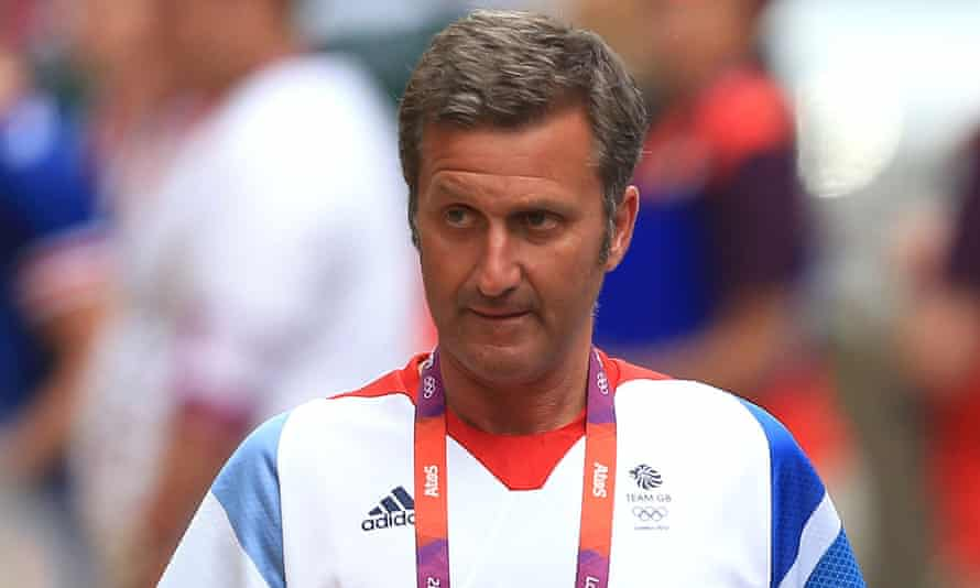 Dr Richard Freeman, pictured at the London 2012 Olympics, was giving testimony at his fitness-to-practice hearing.