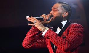 Nipsey Hussle grew up in Crenshaw, and invested into the LA district as he saw success in the music industry.