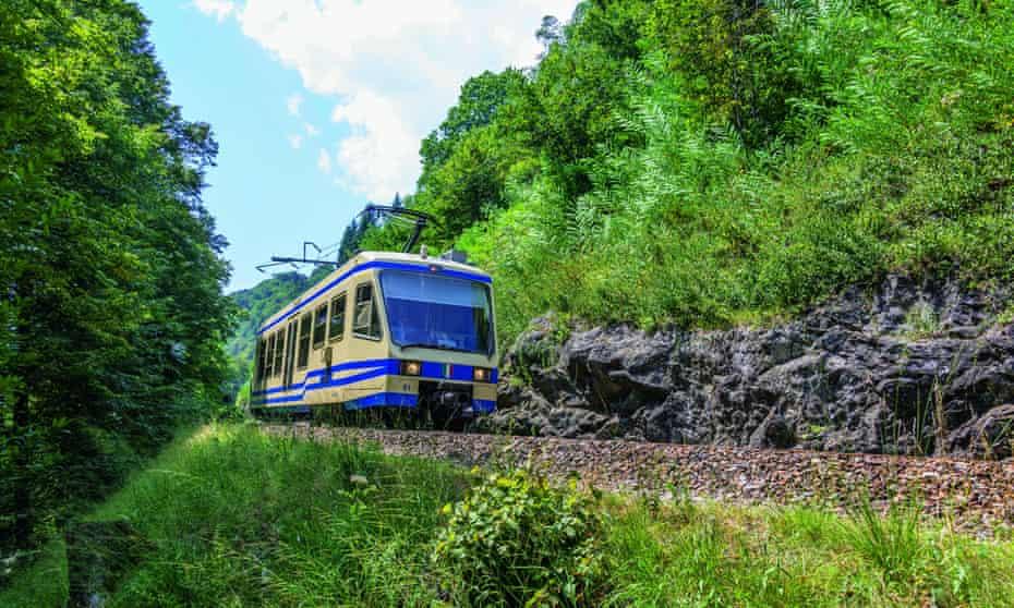 Locarno and Domodossola train