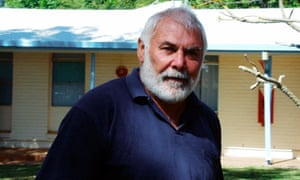 Former All Black Keith Murdoch in Australia's Northern Territory in 2001. He lived as a recluse since 1972.