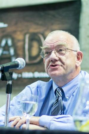 Steve Davies at Discuss Manchester, 30 September 2015.