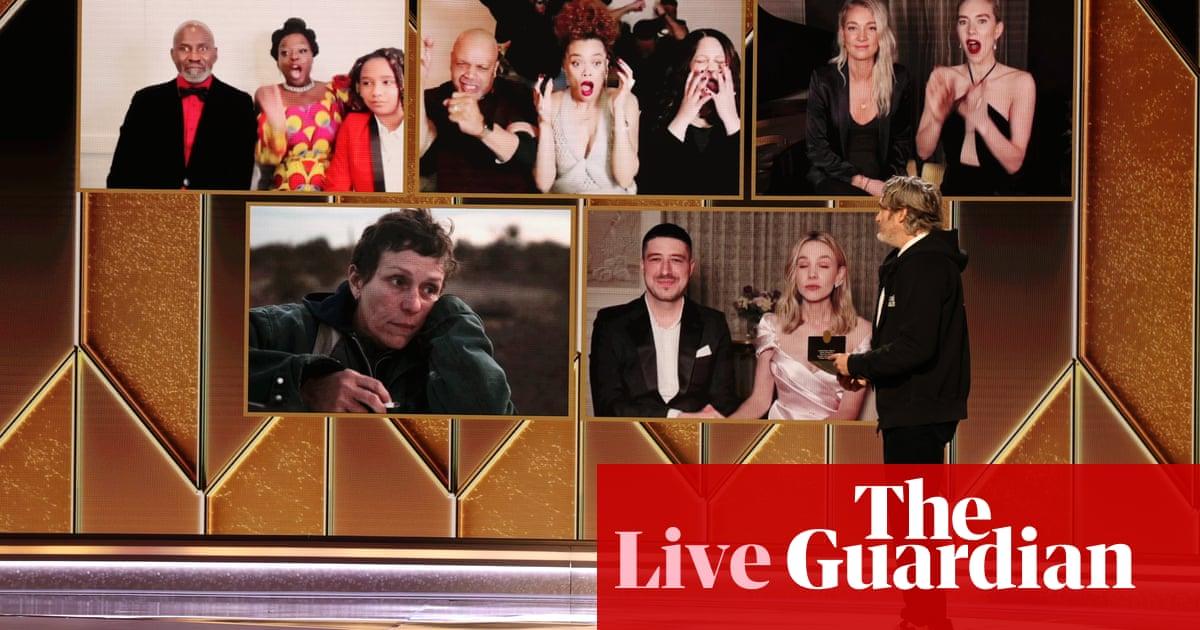 Golden Globes 2021: Nomadland and The Crown win big – live