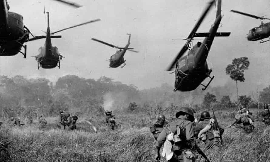 The Vietnam war: Donald Trump knows what it's like because he experienced the trauma of risking venereal disease while sleeping around in his bachelor days.