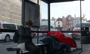 The rise in homelessness does not always produce empathy.