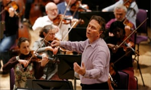 The Halle Orchestra rehearsing in Manchester