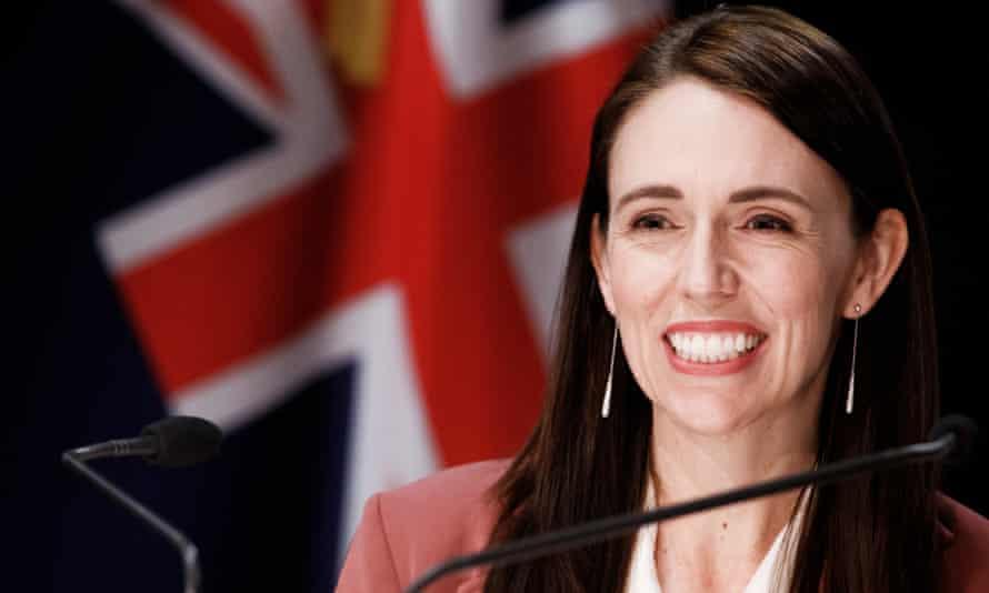 New Zealand PM Jacinda Ardern