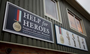 Help for Heroes offices in Downton, Wiltshire.
