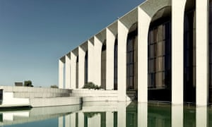 'We were under time pressure, and we had to do a top class job' … Oscar Niemeyer's Mondadori building in Segrate, outside Milan, where Origin was translated.