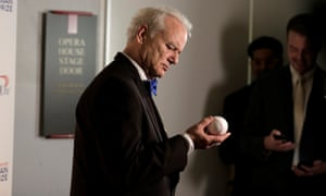 Bill Murray is a member of the Goldklang Group, who own a number of minor-league baseball teams.