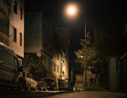 Street in Antakya, Turkey