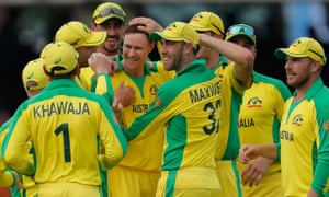Australia dismissed England for 221 when in pursuit of 286 at Lord's thanks to inspired bowling from Jason Behrendorff and Mitchell Starc.