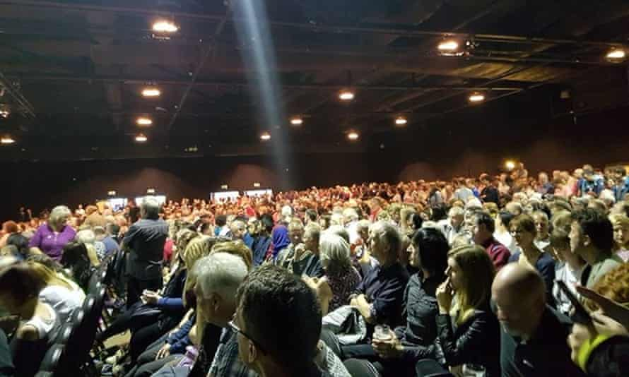'Not only did Corbyn address a rally in Hull that afternoon, but he spoke twice that evening in Leeds.'