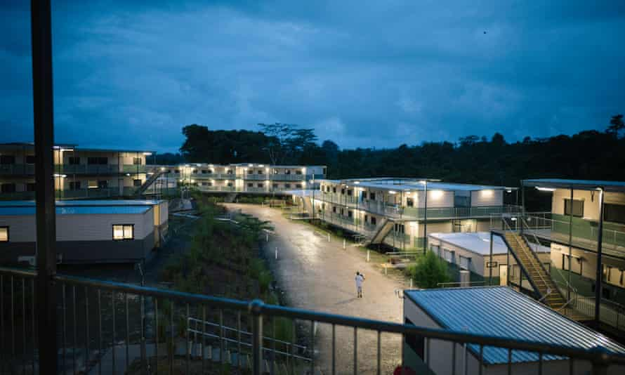 Australian-contracted immigration detention facilities on Manus Island.