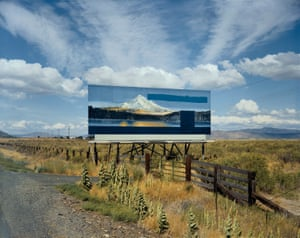 Stephen Shore, U.S. 97, South of Klamath Falls, Oregon, July 21, 1973, Uncommon Places, 1973