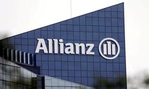 The Allianz UK logo