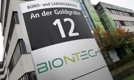BioNTech headquarters in Mainz, Germany